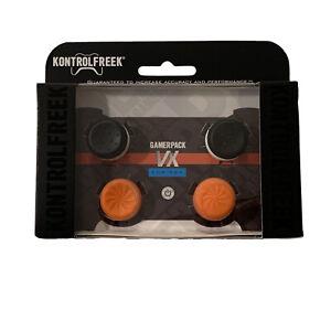 KontrolFreek VX Thumbsticks PS4 PS5 Orange FPS PlayStation Gamerpack 2 Pack New