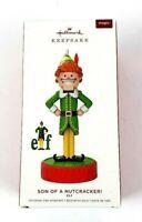 2019 Hallmark Elf Son of a Nutcracker Keepsake Ornament