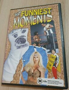 WWF WWE Funniest Moments DVD 2002 Region 1 NTSC Steve Austin The Rock DX