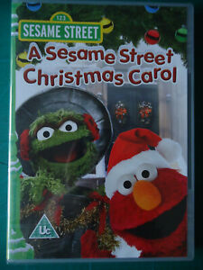* A SESAME STREET CHRISTMAS CAROL (Abbey UK DVD 2008) Oscar Elmo NEW SEALED!