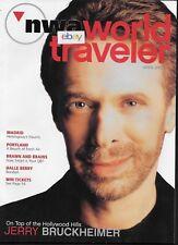NORTHWEST AIRLINES WORLD TRAVELER MAGAZINE 4/2003 HALLE BERRY- JERRY BRUCKHEIMER