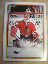 25 - 1990-91 Bowman Black Hawks Ed Belfour Rookie Card # 7 NmMt