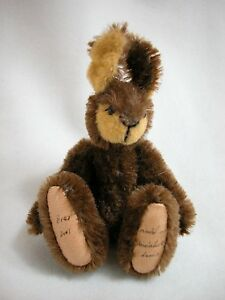 """World of Miniature Bears By Theresa Yang 3""""  Mohair Rabbit Brer #999 Closeout"""