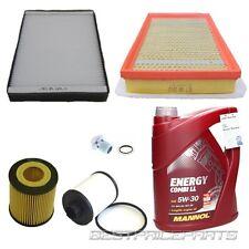 Inspektions kit Inspektionspaket Filterset 6 teilig Opel Zafira B A05 1.9 cdti