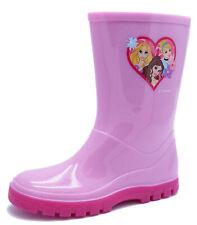 GIRLS DISNEY PRINCESS WELLY WELLIES WATERPROOF RAIN SPLASH BOOTS SIZES 4-12