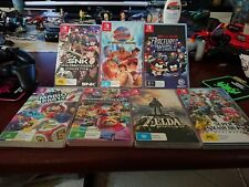 Nintendo Switch Game cases only
