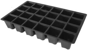 That Haus Pack of 10 24-Cell Seed Insert Trays - 100% Recycled Plastic