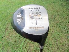 Snake Eyes Driver 9.5° Computer Modeled Face Titanium/Tungstun CMF RH Golf Club