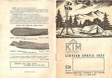 Kim Milano 1954 Catalogo Scout Scoutismo