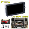 "7"" 2Din HD Touch Screen Bluetooth Car Player FM Stereo Radio AUX USB MP5 U-disk"