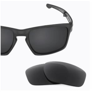 Revant Optics Replacement Stealth Black Polarized Lenses Oakley Sliver F