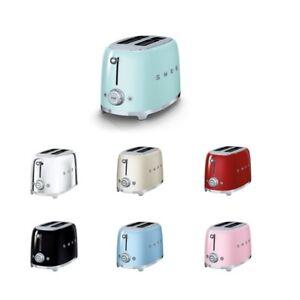 Smeg TSF01 2 Slice Toaster-Customer Return-Warranty- Choice Of Colour