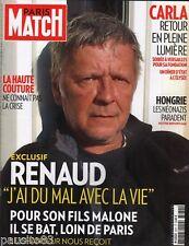 Couverture magazine,Coverage Paris Match Renaud