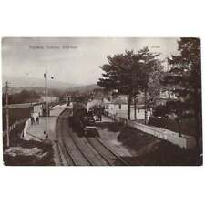 More details for aberlour railway station banffshire rp postcard by valentine postally used c1906