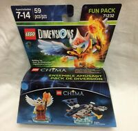 LEGO Dimensions Chima - Eris w/ Eagle Interceptor - Fun Pack NIB