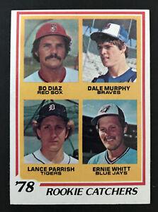 1978 Topps #708 Dale Murphy Rookie RC Card Ex-Mt Atlanta Braves