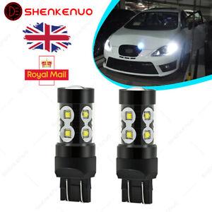 H7 100W COB LED Bulbs Pair Canbus For Vauxhall Opel Zafira MK1 A 1998-2005