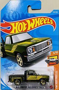 Hot Wheels 1978 Dodge LI'L Red Express Truck Green Treasure Hunt 2021 New M Box