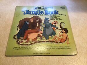 VINTAGE 1967 WALT DISNEY THE JUNGLE BOOK 33 1/3 RPM RECORD ALBUM NICE!