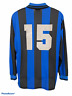 MAGLIA INTER SHIRT JERSEY MATCH WORN ISSUED COPPA UEFA CUP 1995/1996 UMBRO