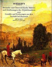 Sotheby's Munchen Juni 21 1994 Deutsche Osterreichische Carl Hummels