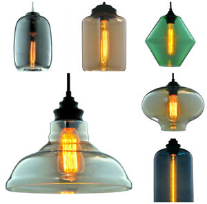 Modern Industrial Retro Loft Ceiling Pendant Light Lamp Shade