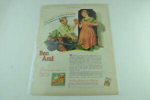 Bon Ami Chicks Full Page Print Ad 357