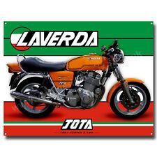 1981 Laverda Jota 1000cc Serie 2 180 Grad Motorrad Metall Schild. 40.6cm X