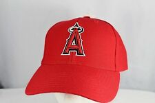 Los Angeles Anaheim Angels Red Baseball Cap Adjustable