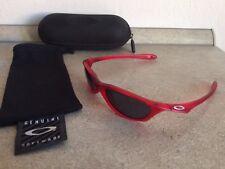 OAKLEY KIDS Halfpint Crystal Red/Grey plus original Hard Case
