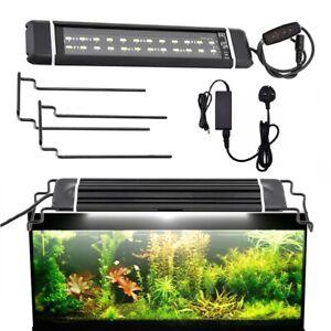 LED Aquarium Lighting Fish Tank Light Lamp Full Spectrum Lights Timer Adjustable