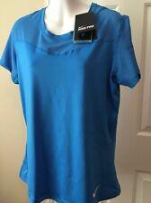 NWT Women's Nike Pro Dri Fit Bright Blue Running Shirt Top $45 XL, New!