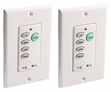 Westinghouse 7787500 Wireless Ceiling Fan and Light Wall Control - 2 Pack