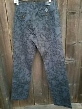 Maide Bonobos Blue Floral Jeans Size 8 NWT