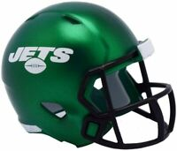 New York Jets NFL Helmet Riddell Pocket Pro Speed 2019 Style