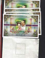Belize sc#857 x9 (1987) Souvenir Sheet MNH