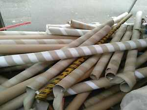Cardboard Tubes various sizes. Free to collect