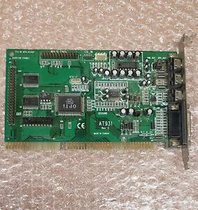 Vintage 1996 Atherton AT931 ISA sound card, OPTi 82C931 chip 931