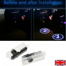 Pair Car LED Door Welcome Projector Logo Ghost Shadow Laser Light for BMW Logo