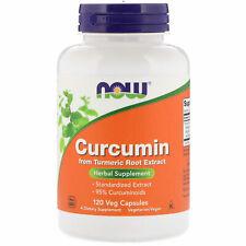 Now Foods CURCUMIN, Turmeric Extract 95%, 665mg - 120 VCaps