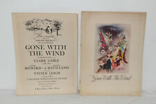 VINTAGE GONE WITH THE WIND ORIGINAL MOVIE PLAYBILL PROGRAM