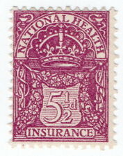 (I.B) George V Revenue : National Health & Insurance 5½d