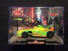 Disney Store Cars 2 Rip Clutchgoneski Racer Diecast Collector Case IN MINT