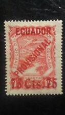 Ecuador SCADTA 1928 75 Cts.75, PROVISIONAL. a GEM PIECE, only 24 in existence.