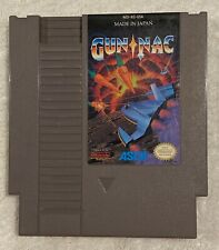 Gun Nac Nintendo NES Ascii Cartridge Only / Authentic / Tested