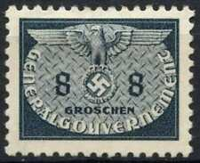 Poland German Occupation 1940 SG#O408, 8g Grey Official MH #E3402