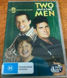 Two And A Half Men Series 3 DVD (SET) Complete Season Three Third - FREE POST