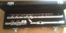 Philipp Hammig 666/1 PRO Solid Silver Flute Offset High G A Trill German Boehm