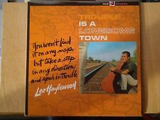 disque vinyle lp Lee Hazlewood. Trouble is a lonesome town