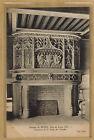 Cpa château de Blois aile de Louis XII - cheminée salle des gardes bes047